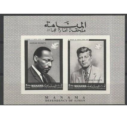 Znaczek Manama 1968 Mi bl 8B Czyste **