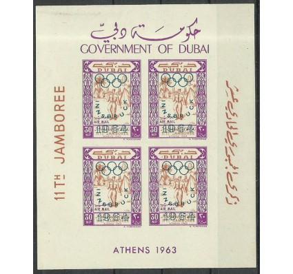 Znaczek Dubaj 1964 Mi bl 16 Czyste **