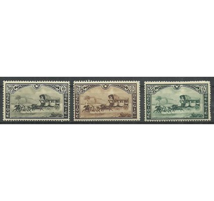 Znaczek Belgia 1935 Mi 402-404 Z podlepką *