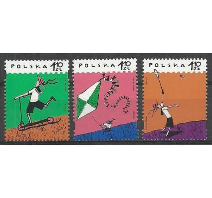 Znaczek Polska 2002 Mi 3975-3977 Fi 3825-3827 Czyste **