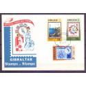 Gibraltar 1977 Mi 364-366 FDC