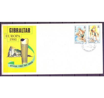 Znaczek Gibraltar 1981 Mi 416-417 FDC