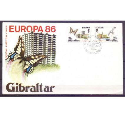 Znaczek Gibraltar 1986 Mi 503-504 FDC