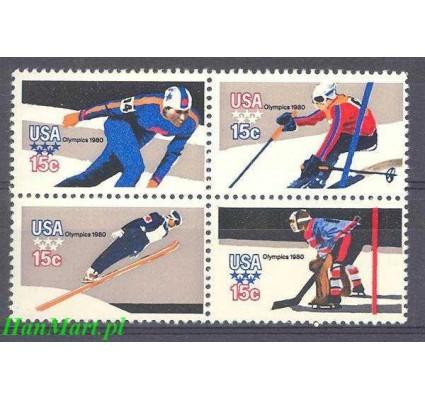 Znaczek USA 1980 Mi 1411-1414A Czyste **