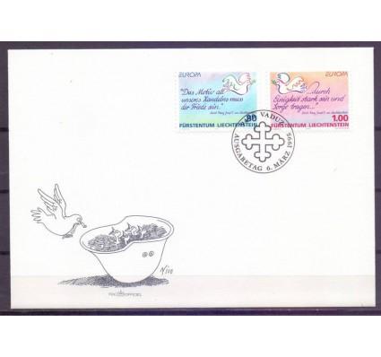 Znaczek Liechtenstein 1995 Mi 1103-1104 FDC