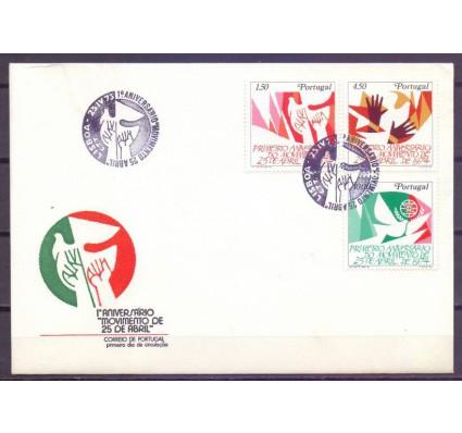 Znaczek Portugalia 1975 Mi 1275-1277 FDC