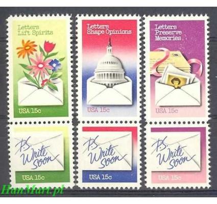 USA 1980 Mi 1421-1426 Czyste **