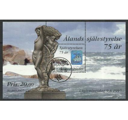 Znaczek Wyspy Alandzkie 1997 Mi bl 3 Stemplowane