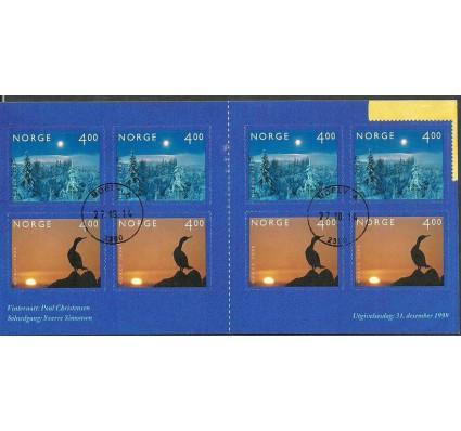 Znaczek Norwegia 1999 Mi mh 1335-1336I Stemplowane
