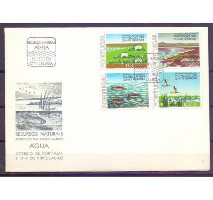 Znaczek Portugalia 1976 Mi 1335-1338 FDC