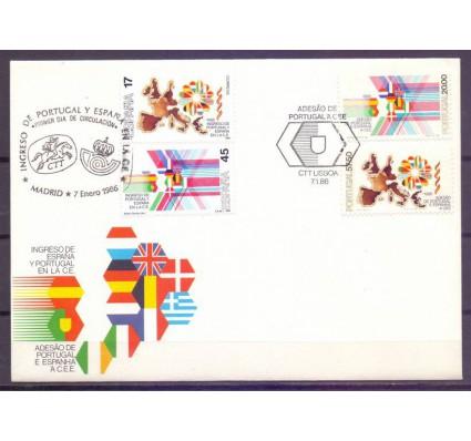 Znaczek Portugalia 1986 Mi 1677-1678+2710-2712 FDC