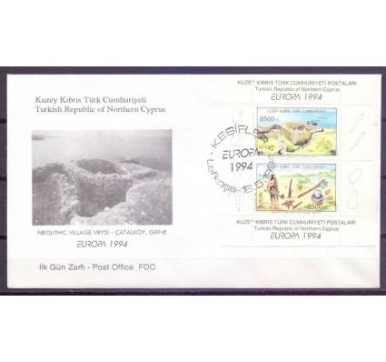 Znaczek Cypr Północny 1994 Mi bl 13 FDC