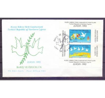 Znaczek Cypr Północny 1995 Mi bl 14 FDC