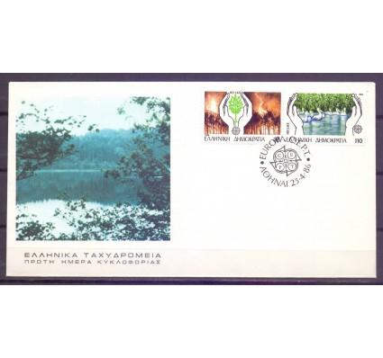 Znaczek Grecja 1986 Mi 1630-1631A FDC