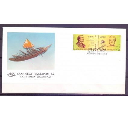 Znaczek Grecja 1994 Mi 1848-1849A FDC