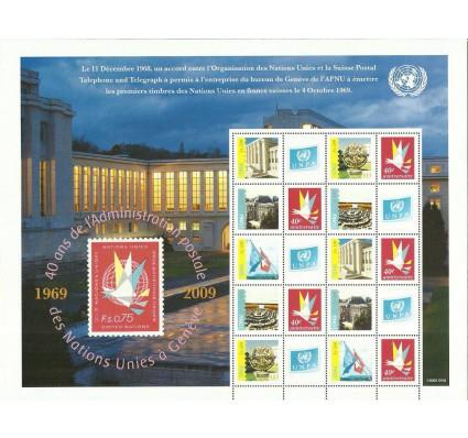 Znaczek Narody Zjednoczone Genewa 2009 Mi ark 662-666A Czyste **