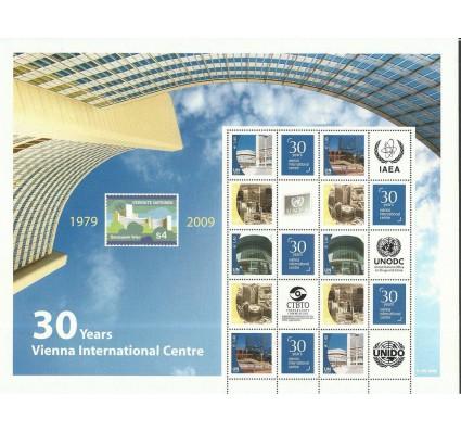 Znaczek Narody Zjednoczone Wiedeń 2009 Mi ark 607-611A Czyste **