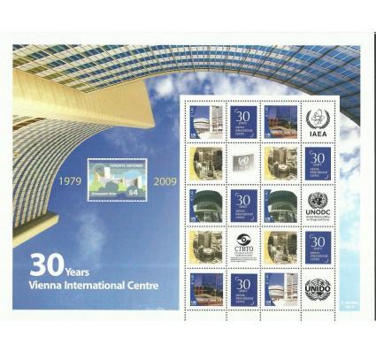 Znaczek Narody Zjednoczone Wiedeń 2009 Mi ark 607-611C Czyste **