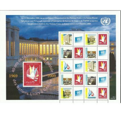 Znaczek Narody Zjednoczone Genewa 2009 Mi ark 662-666C Czyste **