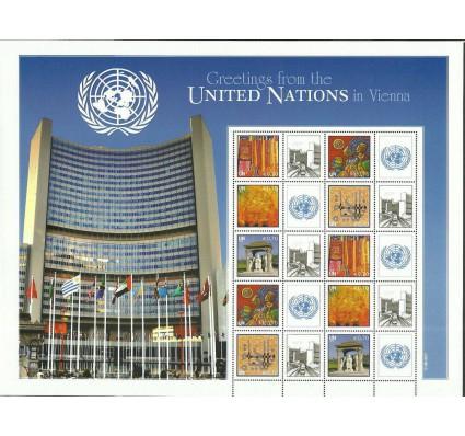 Znaczek Narody Zjednoczone Wiedeń 2011 Mi ark 724-728 Czyste **