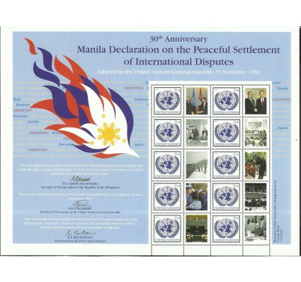 Znaczek Narody Zjednoczone Nowy Jork 2012 Mi ark 1283b Czyste **
