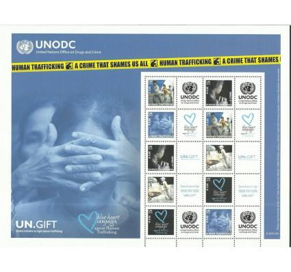 Znaczek Narody Zjednoczone Wiedeń 2010 Mi ark 634-638 Czyste **