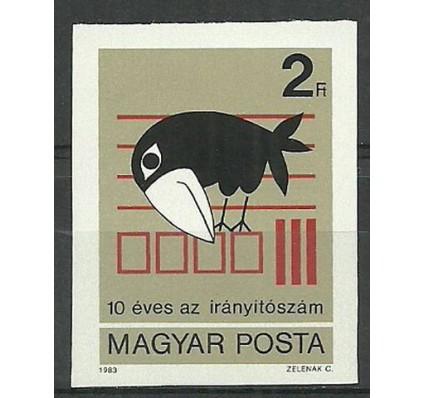 Znaczek Węgry 1983 Mi 3596B Czyste **