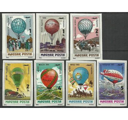 Znaczek Węgry 1983 Mi 3600-3606B Czyste **
