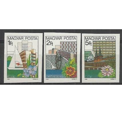 Znaczek Węgry 1983 Mi 3647-3649B Czyste **