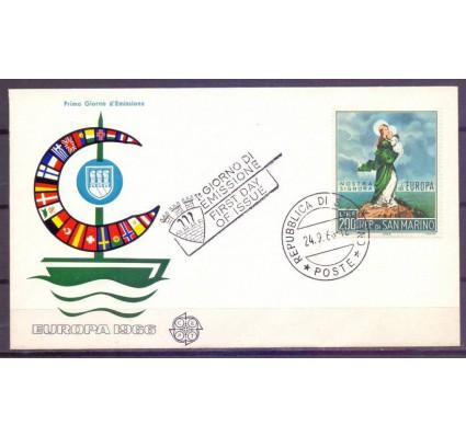 Znaczek San Marino 1966 Mi 879 FDC
