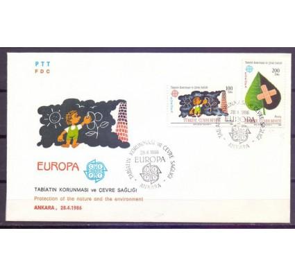 Znaczek Turcja 1986 Mi 2738-2739 FDC