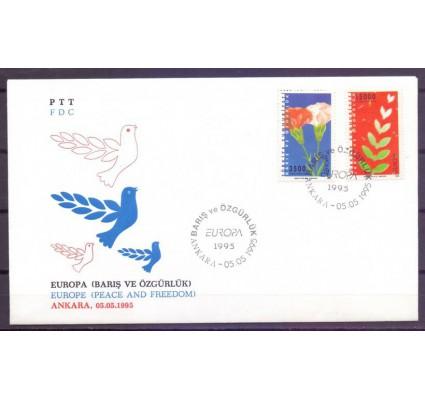 Znaczek Turcja 1995 Mi 3047-3048 FDC