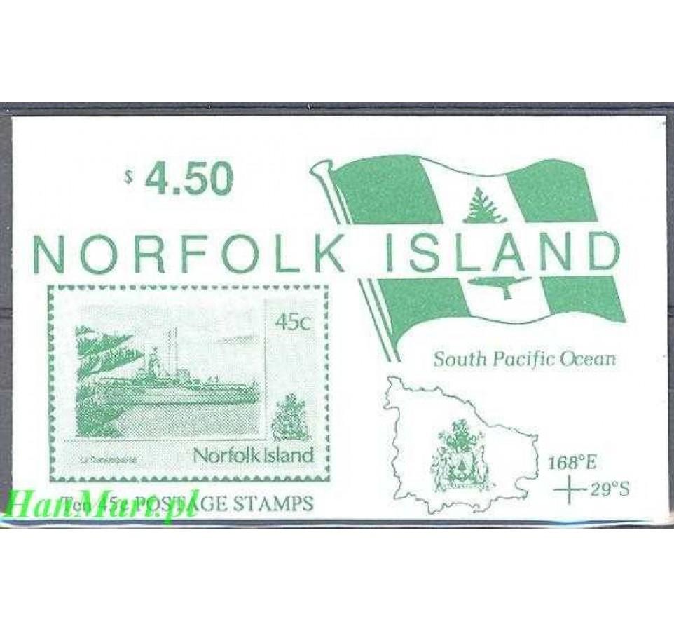 Norfolk 1991 Mi mh 495 Czyste **