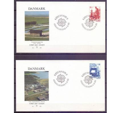Znaczek Dania 1986 Mi 882-883 FDC