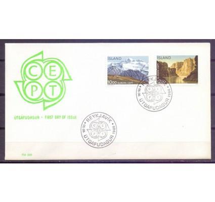 Znaczek Islandia 1986 Mi 648-649 FDC