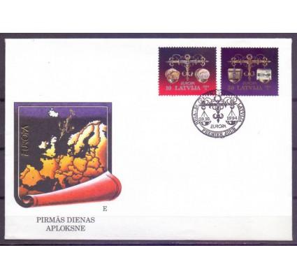 Znaczek Łotwa 1994 Mi 376-377 FDC