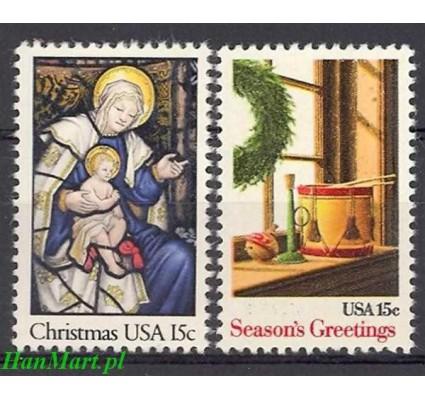 Znaczek USA 1980 Mi 1450-1451 Czyste **