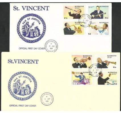 Znaczek Grenadines of St Vincent 1989 Mi 1157-1164 FDC