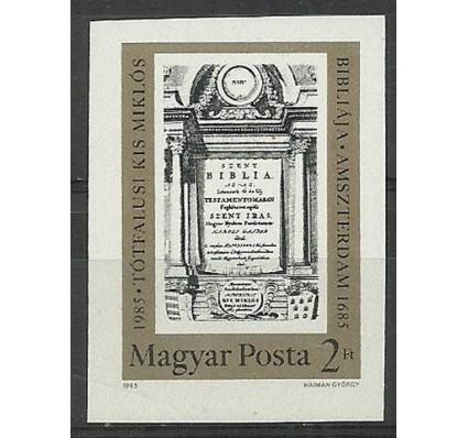 Znaczek Węgry 1985 Mi 3748B Czyste **