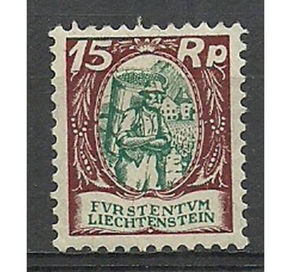 Znaczek Liechtenstein 1927 Mi 69 Czyste **