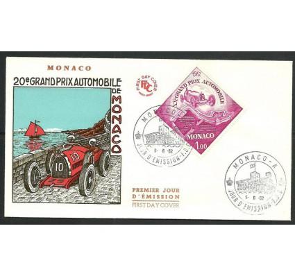 Znaczek Monako 1962 Mi 687 FDC