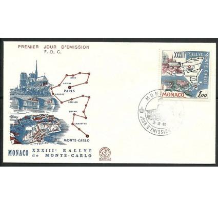 Znaczek Monako 1963 Mi 740 FDC