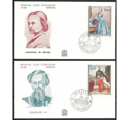 Znaczek Monako 1979 Mi 1390-1391 FDC