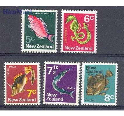 Znaczek Nowa Zelandia 1970 Mi 523-527 Czyste **