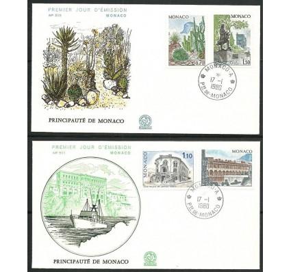 Znaczek Monako 1980 Mi 1406-1409 FDC