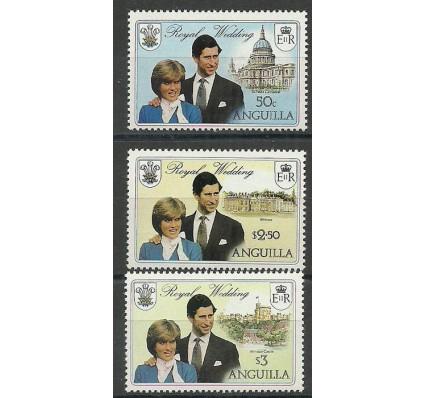 Znaczek Anguilla 1981 Mi 442-444xa Czyste **