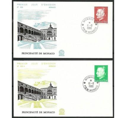 Znaczek Monako 1980 Mi 1429-1430 FDC