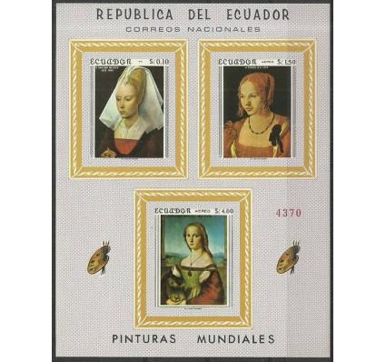 Znaczek Ekwador 1967 Mi bl 42 Czyste **