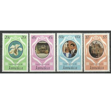 Znaczek Jamajka 1981 Mi 504-507D Czyste **