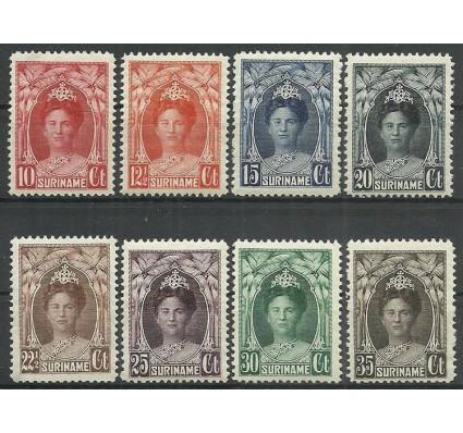 Znaczek Surinam 1927 Mi 124-127+129-132 Czyste **